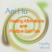 "CD titled ""Healing Affirmations & Positive Self-Talk"""